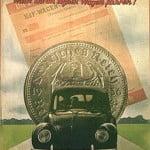 Реклама Volkswagen от 1938 года