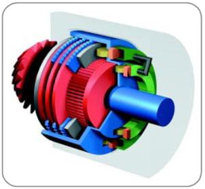 Муфта представляет собой электронно-управляемое многодисковое сцепление.  Стальные фрикционные диски установлены с...