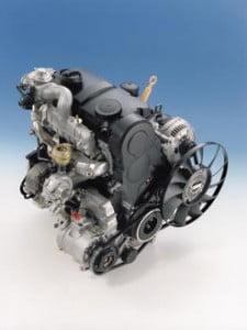 Двигатель 1,9 л TDI с системой впрыска топлива с насос-форсунками