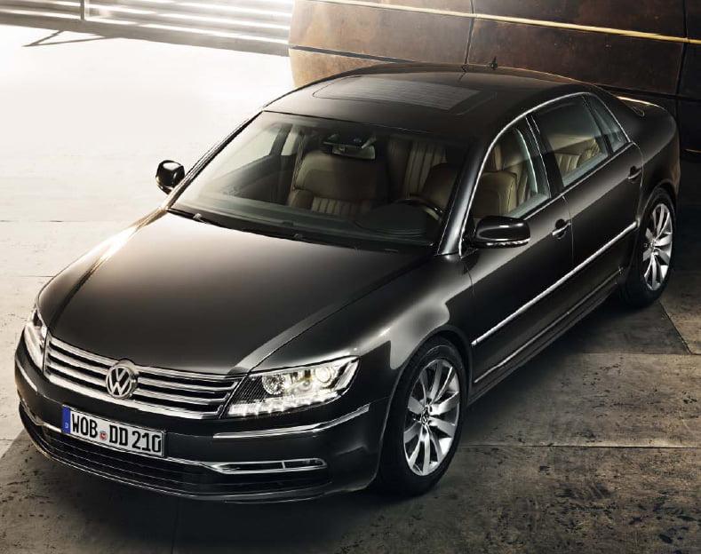 Volkswagen готовит обновлённую версию Phaeton