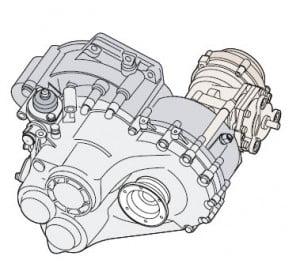 Коробка передач модели 02M