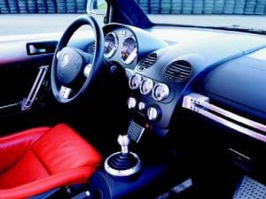салон автомобиля New Beetle RSi