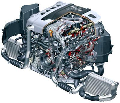 Двигатель 4,2 л V8 TDI с системой впрыска Common Rail