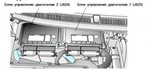 Kонцепция системы управления двигателем