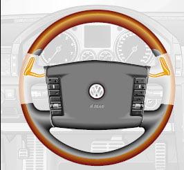 Переключение передач клавишами на рулевом колесе