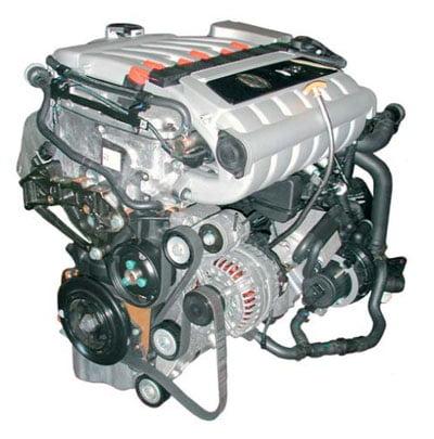 Двигатель V6 3,2 л, 185 кВт со впрыском топлива во впускной коллектор, 4...