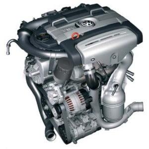 Двигатель TSI, 1,4 л  ,118 кВт