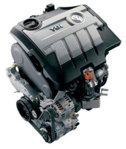 Двигатель CR-TDI 2,0  л - 103  кВт с системой впрыска  Common Rail