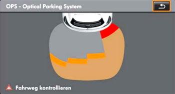 Оптический парковочный ассистент