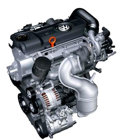 1,4 л - 90 кВт — двигатель TSI с турбонаддувом