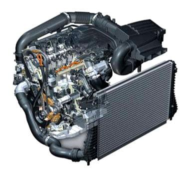 Двигатель TSI 2,0 л