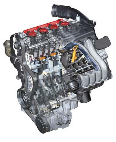 2литровый двигатель FSI