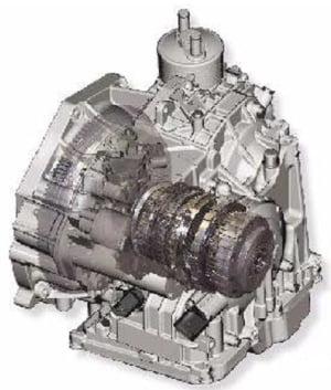 6-ступенчатая АКП 09G
