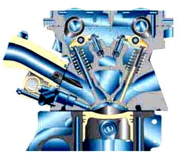 Двигатель с наддувом