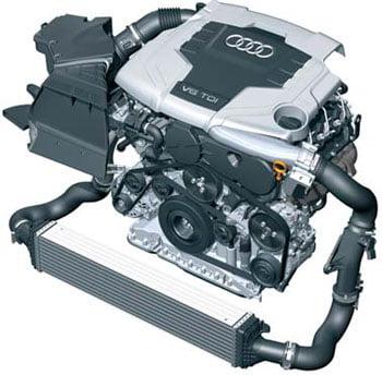 2,7 л/3,0 л V6 TDI с системой впрыска Common Rail
