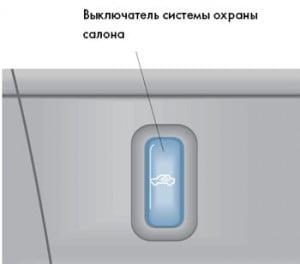 Принцип действия системы охраны салона
